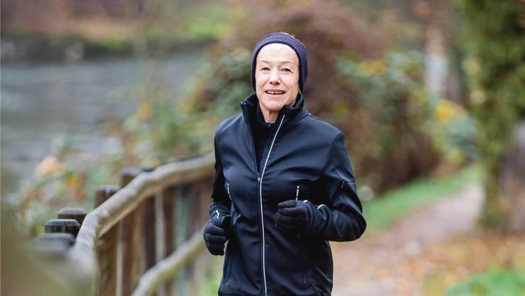 Mit 67 Jahren läuft Rita Peterhans auch der jüngeren Konkurrenz teilweise um die Ohren.