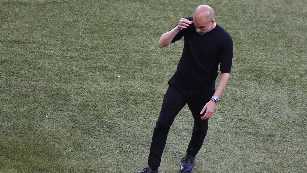 Pep Guardiola muss sich derweil in seinem dritten Champions-League-Final als Trainer erstmals geschlagen geben