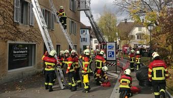 Hauptübung Regio Feuerwehr Lenzburg