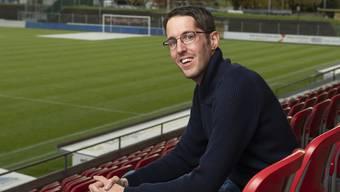 Patrick Haller: «Ich unterstütze den FC Aarau in guten und in schlechten Zeiten.»