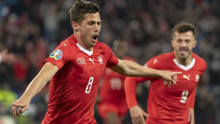 Auch in der Nationalmannschaft erfolgreich: Remo Freuler.