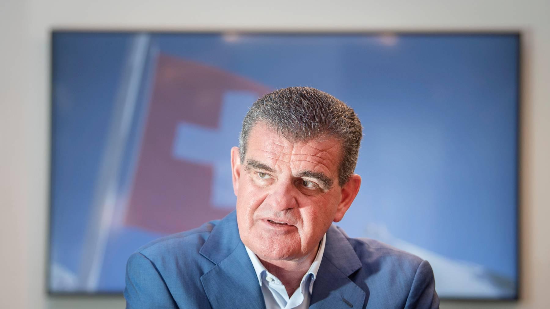 Peter Spuhler, Patron von Stadler Rail und alt SVP-Nationalrat, ist gegen die Begrenzungsinitiative seiner Partei.