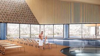 Nach der Einigung der Verenahof AG und der HRS Real Estate AG, fangen die Bauarbeiten für das Thermalbad im Frühling an.