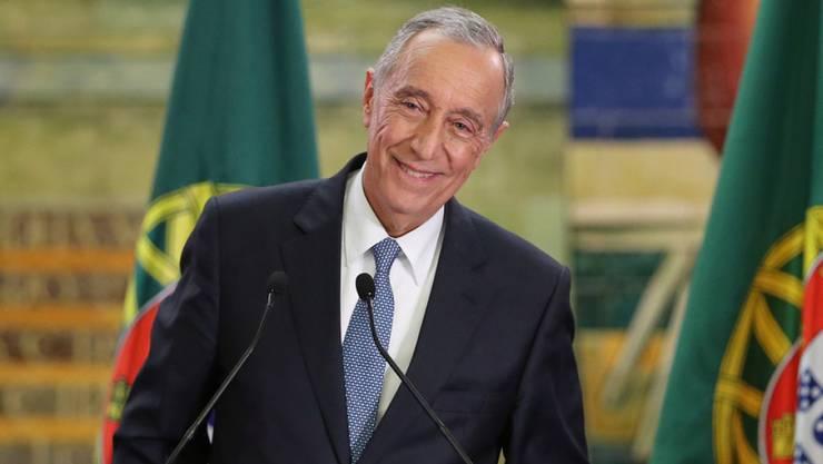 Rebelo de Sousa hatte im Wahlkampf mit seinem volksnahen und jovialen Stil für viel Aufsehen gesorgt.