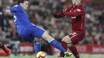 Xherdan Shaqiri wurde beim 1:1 von Liverpool gegen Leicester City nach 67 Minuten ausgewechselt