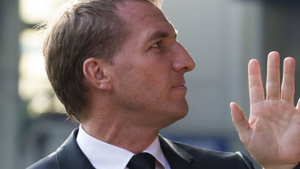 Brendan Rodgers sagt Good by