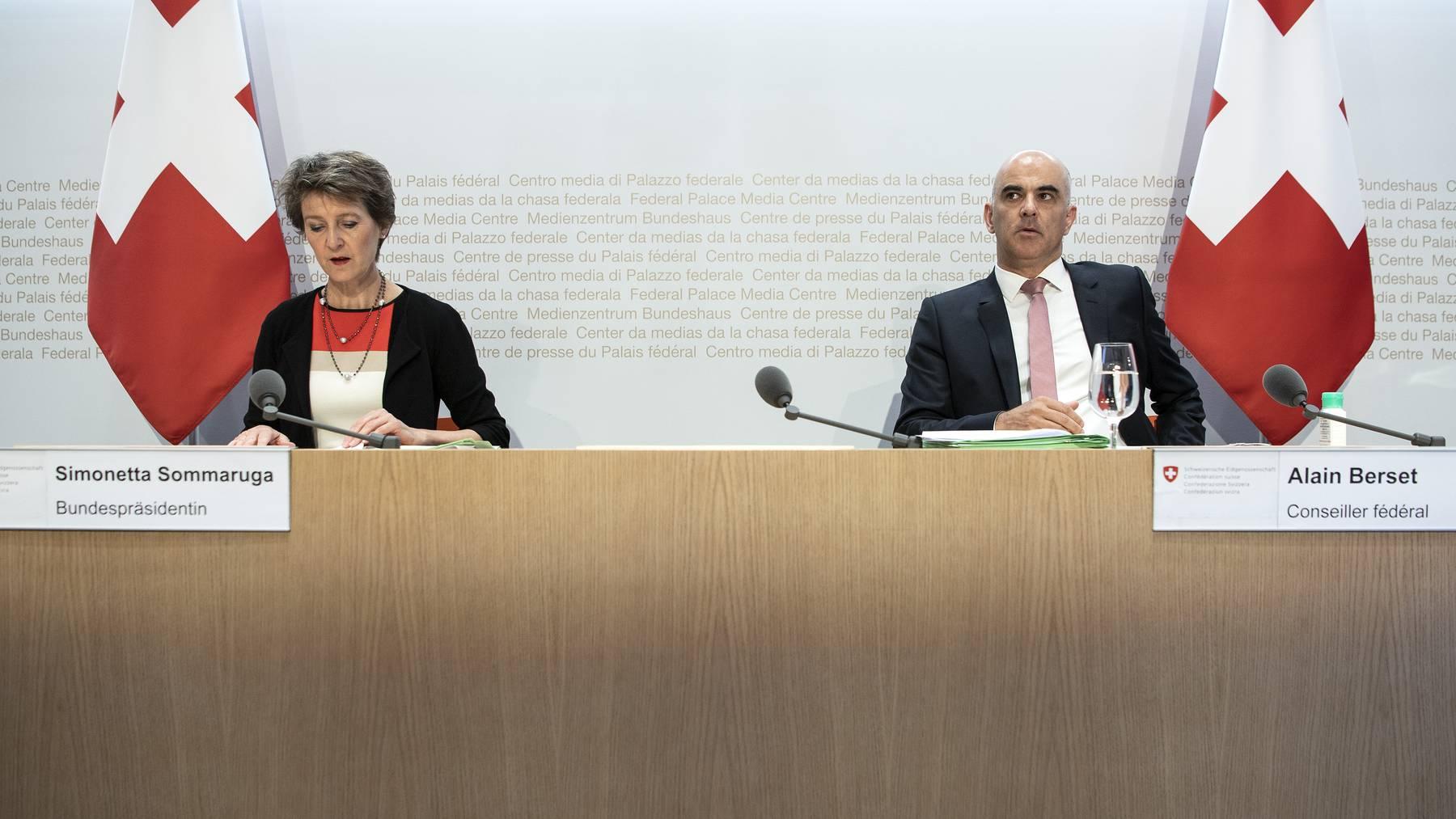 Bundesrat - KEYSTONE Peter Schneider