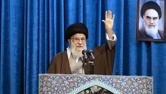 Das Mullah-Regime in Iran unter der Führung von Ayatollah Ali Chamenei hat erneut die USA mit Attacken auf Militärschiffe in der Golfregion provoziert. (Archivbild)