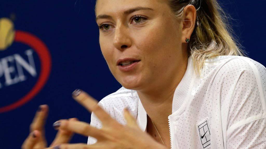 Maria Sharapova ist bereits wieder verletzt