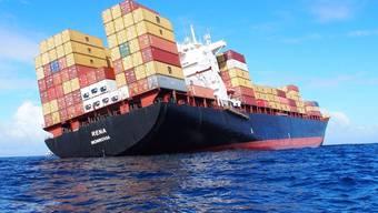 Kampf gegen Ölpest vor Neuseeland nach Schiff-Havarie