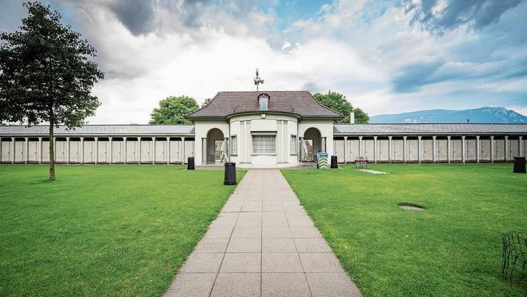 Das Amt für Denkmalpflege beschreibt die Badi Solothurn als Anlage von «qualitätsvoller Architektur» mit «baukünstlerischen Details.»