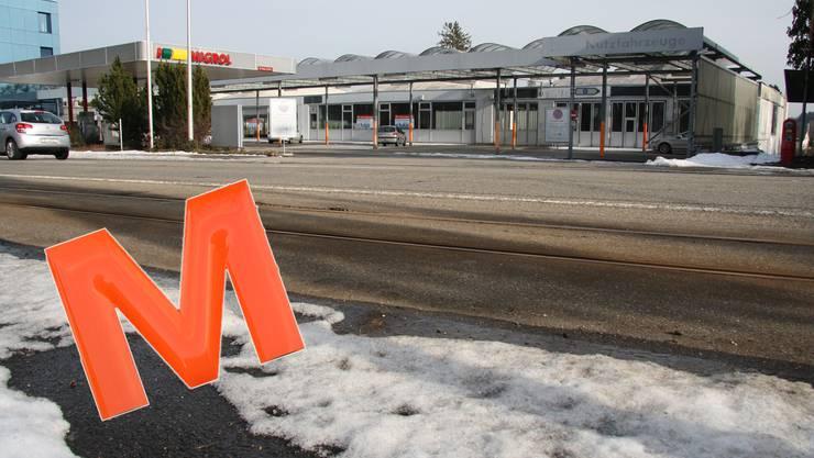 Migros will auf dem verwaisten Amag-Areal an der Baselstrasse ein Einkaufscenter errichten.