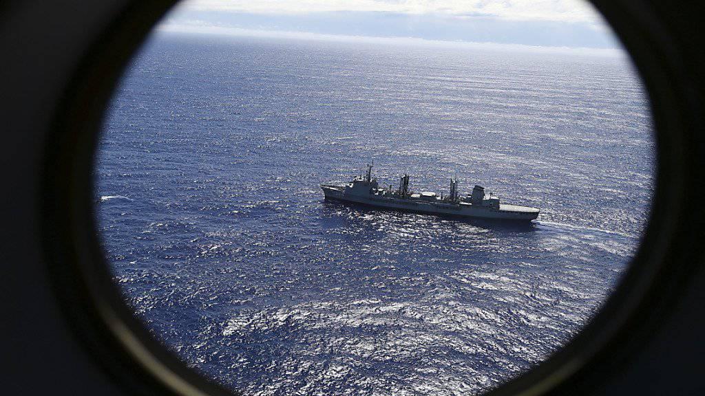 Das niederländische Schiff Fugro Equator ist wohl zum letzten Mal ausgelaufen, um die verschollene Malaysian-Air-Maschine im indischen Ozean zu finden. (Archiv)