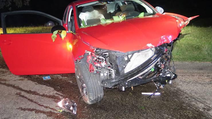 Dabei wurden fünf Personen zum Teil schwer verletzt.