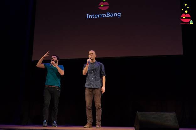Valerio Moser (links) und Manuel Diener als Team Interrobang.