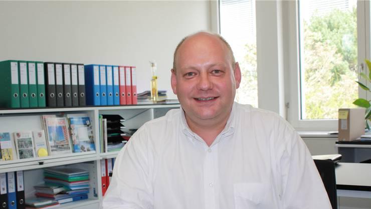 Valentin Schmid, Gemeindepräsident von Spreitenbach.