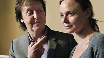 Stella miit ihrem Vater Paul McCartney (Archiv)