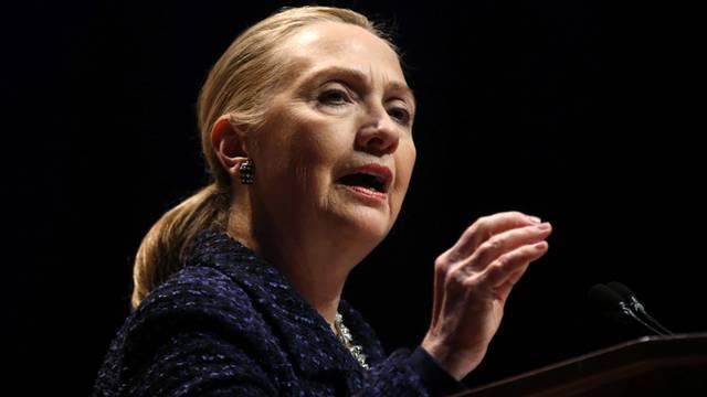 Hillary Clinton fiel in Ohnmacht (Archiv)