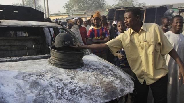 Spuren der Anschlagsserie in Nigeria (Archiv)