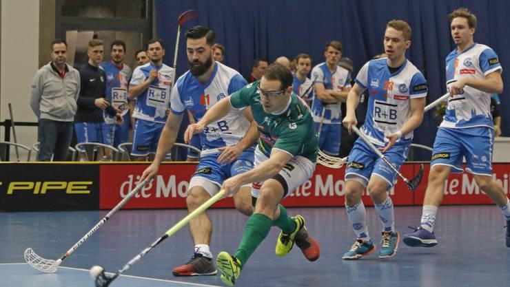 Wiler-Ersigen im Einsatz im Cupfinal.