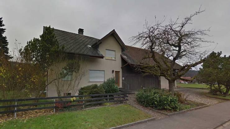 Das Asylhaus an der Ausserrdorfstrasse 11 in Riniken.