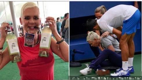 Die Schlagzeile der serbischen Boulevard-Zeitung «Blic». Die Redaktion von CH Media hat das Gesicht der Linienrichterin und die Quellenangabe, die auf ihr Instagram-Profil hinweist, verpixelt, serbische Medien taten das nicht.