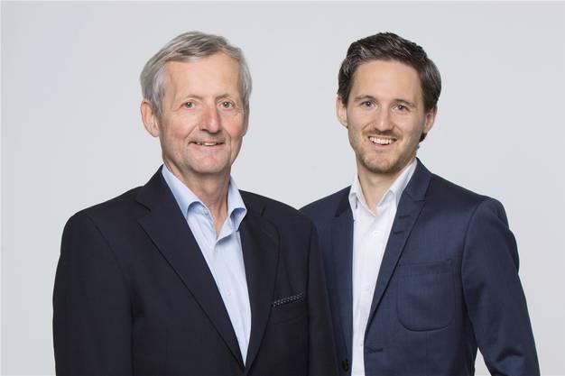 Thomas und Stefan Saner sind zwar aus unterschiedlichen Generationen, aber gerade deshalb eine gute Kombo.