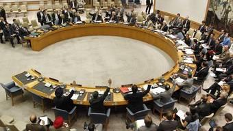 Der UNO-Sicherheitsrat in New York (Archiv)