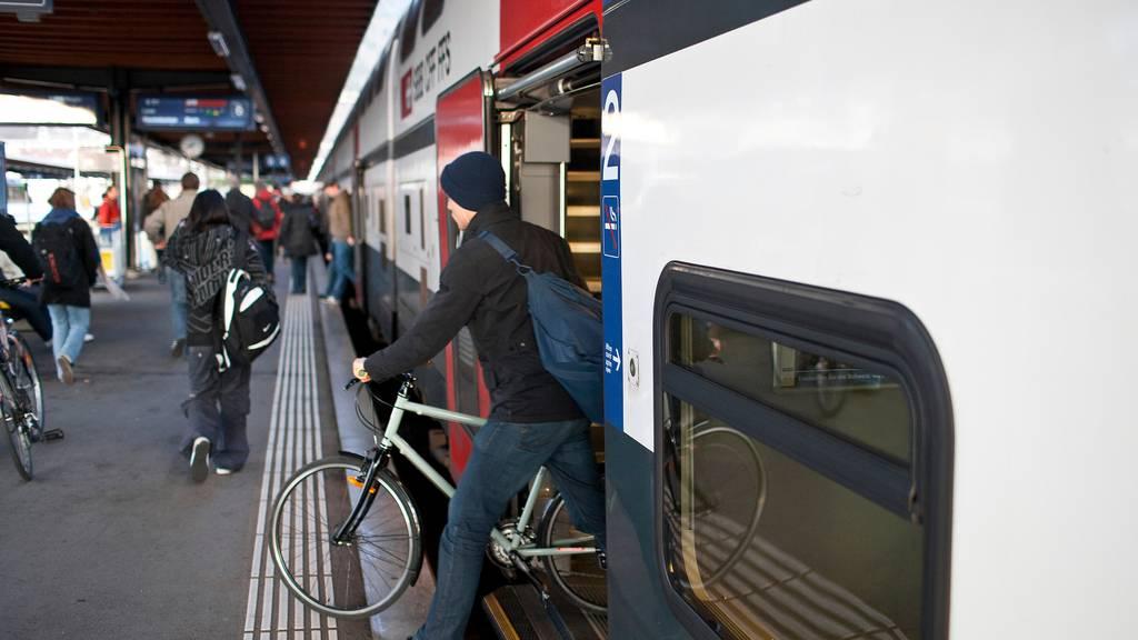 Velofahrer müssen bald in allen Fernverkehrszügen reservieren