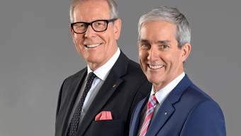 Ernst Zingg (VR-Präsident) und Norbert Caspar (Vorsitzender der Geschäftsleitung)
