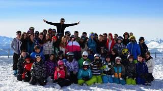 Gruppenbild des Lagers in Davos.