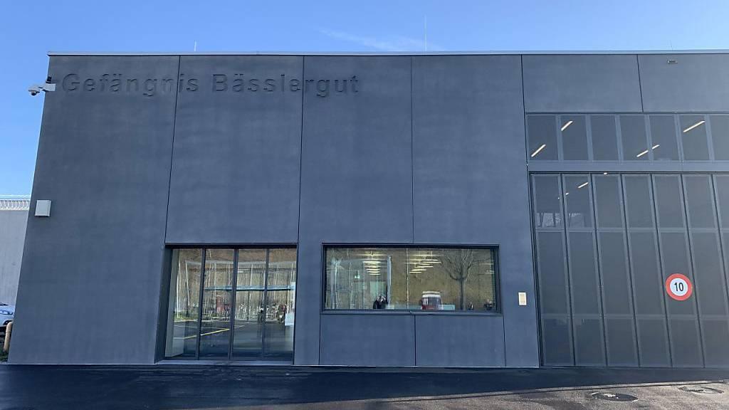 Das neue Basler Gefängnis Bässlergut ist fertiggestellt und wird Anfang 2020 in Betrieb gehen.