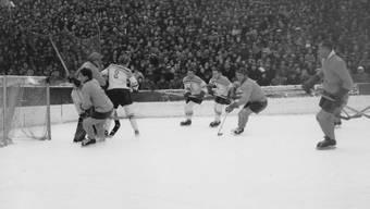 1944 spielte der Zürcher SC noch auf dem Dolder.