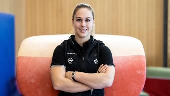 Kunstturnerin Giulia Steingruber fragt: «Kann Erfolg zur Sucht werden? Ich denke, das ist im Sport sehr verbreitet.»
