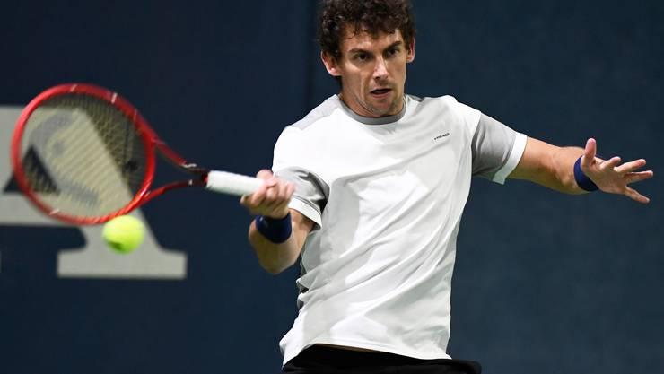 Henri Laaksonen schlägt Borna Gojo und ist damit in Melbourne an den Australian Open mit von der Partie.