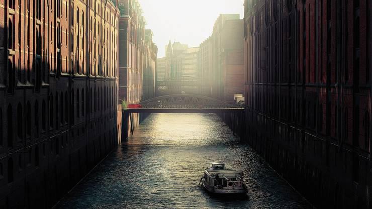 Platz 5: Liebt ihr die Kanäle von Amsterdam und Venedig? Hamburg soll mehr davon haben als beide Städte zusammen