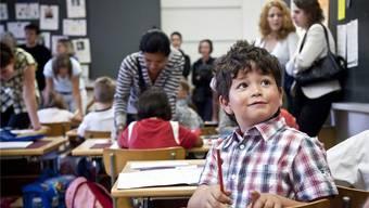 Elternmitwirkung kann nicht erzwungen werden. Sie steht und fällt mit dem Engagement der Mütter und Väter. Ennio Leanza/KEYSTONE