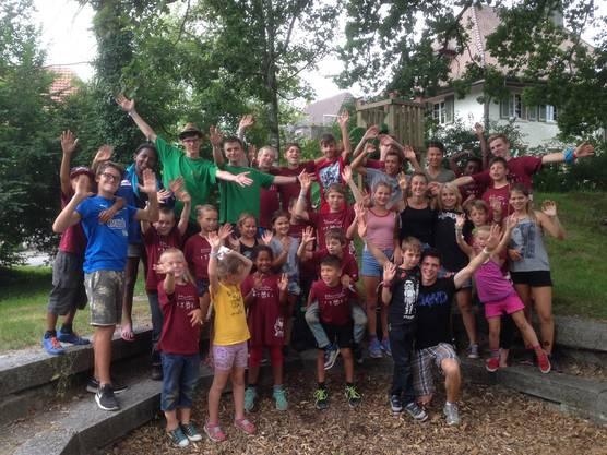 Mit 26 Kindern und 8 Leitern löste die Jungschar Altisberg das Geheimnis der Sanduhr.