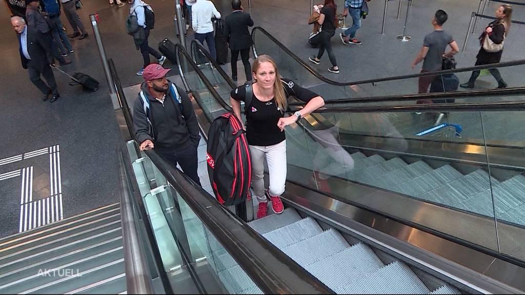 Ironlady Daniela Ryf: Panne beim Check-in