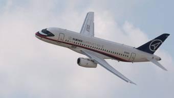 Eine Maschine vom Typ Sukhoi Superjet 100 (Symbolbild)