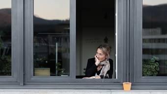Susanne Hochuli beim grossen Interview als Landammann 2016