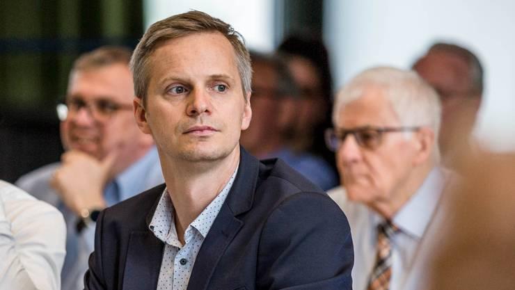 Lukas Speck, Gemeinderat GLP Schlieren.