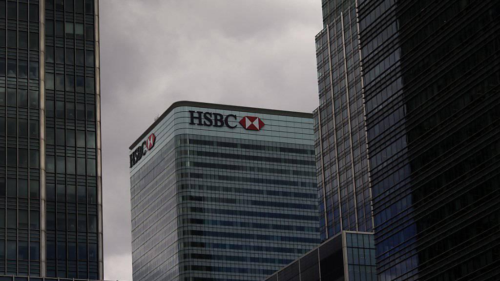Hauptsitz von HSBC in London: Nach teuren Rechtsstreitigkeiten hat Konzernchef