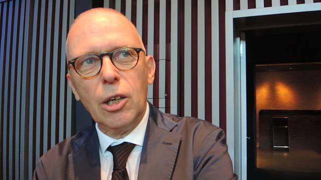 Peter Blöchlinger im Interview nach seiner letzten GV als VR-Präsident der Stadtcasino AG Baden