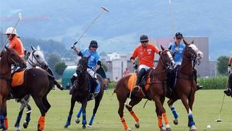 Beim Polo bilden Mensch und Tier eine Einheit. Zu bestaunen war das am Legacy Pollo Cup 2015. Ursula Burgherr