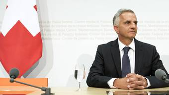 Kopie von Medienkonferenz Burkhalter Bundesrat Europa-Dossier