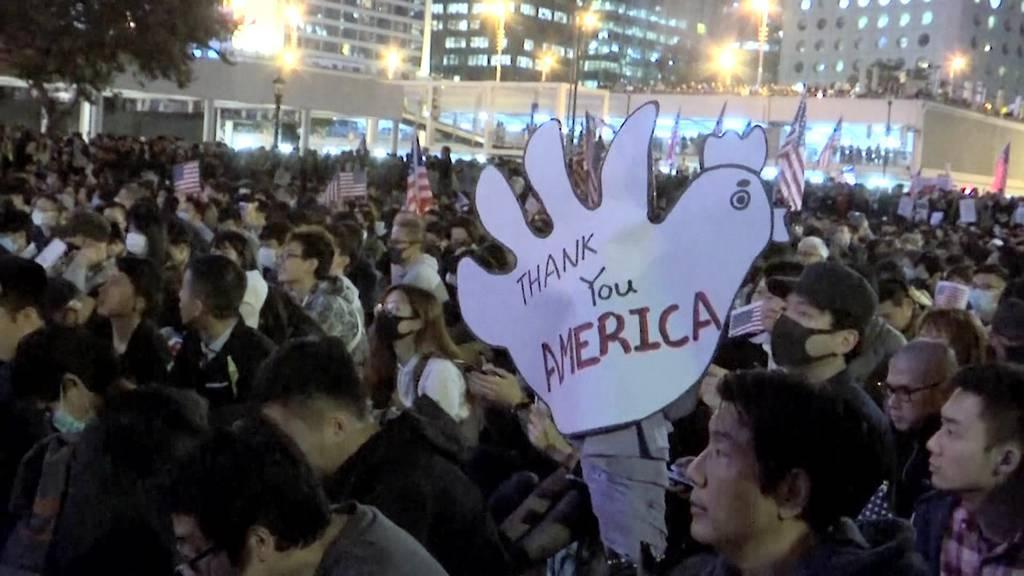 Börsenfolgen nach US-Hilfe für Hongkong-Demonstranten?
