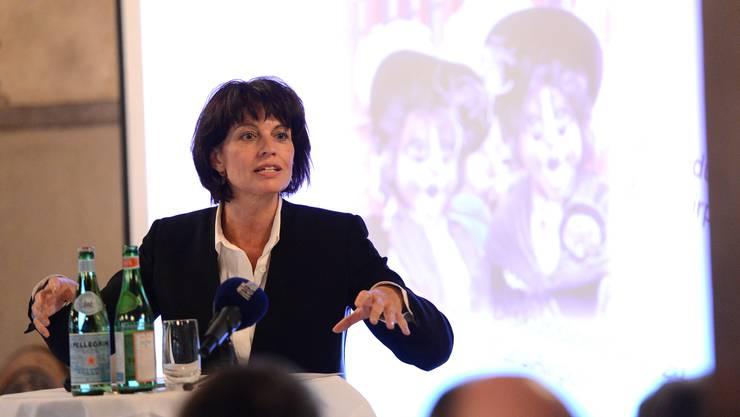 Hoher Besuch in Basel: Bundesrätin Doris Leuthard