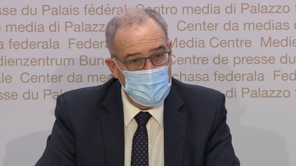 Macht dem Bundesrat Sorgen: «Doppelt so viele Virus-Mutationen wie letzte Woche.»