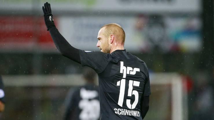 Nach zwei Jahren verabschiedet sich der als Starstürmer verpflichtete Marco Schneuwly vom FC Aarau
